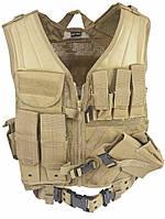 Жилет разгрузочный MilTec USMC Coyote 10720005