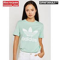 Футболка Adidas Originals Trefoil Cyan DH3176