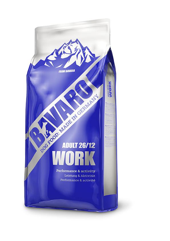 Сухой корм Bavaro Work 26/12 для взрослых рабочих собак 18 кг