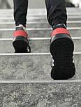 Мужские кроссовки Adidas Originals EQT Bask Adv (Black/Red/White) 40-45р. Живое фото (Реплика ААА+), фото 4