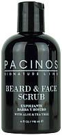 Скраб для лица и бороды Beard and Face Scrub Pacinos