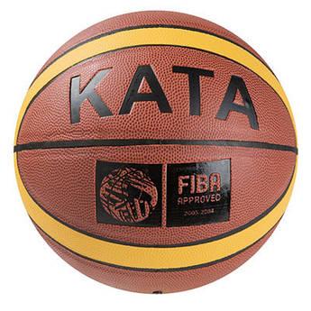 Мяч баскетбольный Kata  PU, FIBA №7