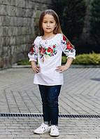 """Детская блузка с вышивкой - вышиванка """"Ладочка"""""""