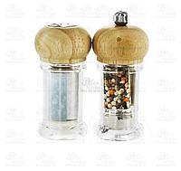 Metaltex Набор солонка и мельница для перца Spice Line 10см 252816