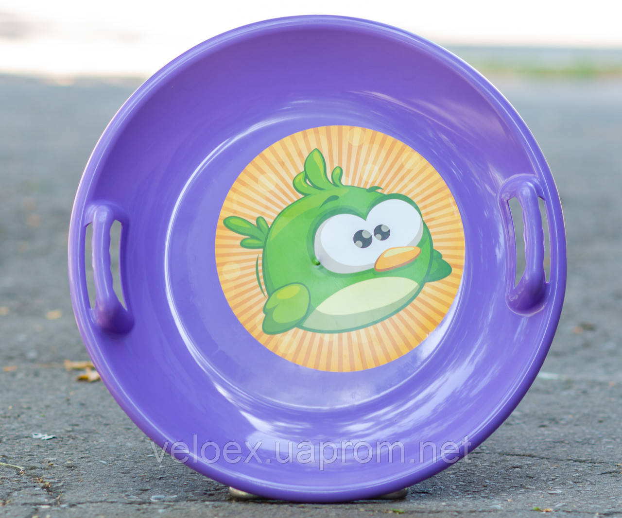 Тарелка Kimet фиолетовая