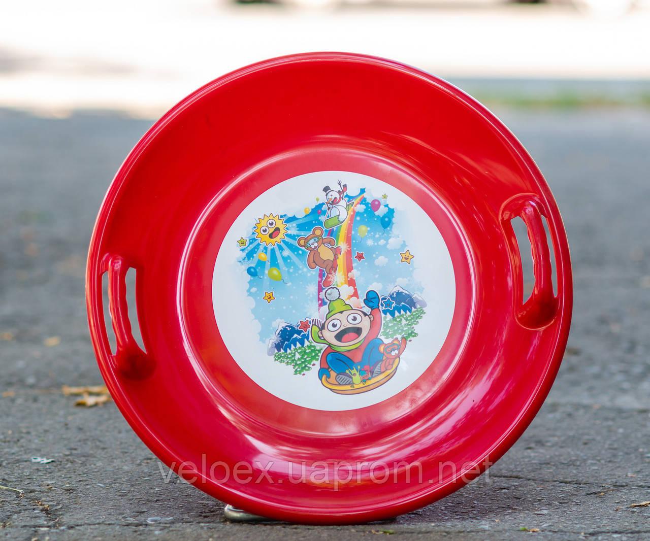 Тарелка Kimet красная
