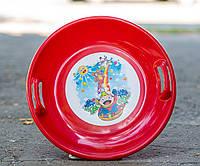 Тарелка Kimet красная, фото 1
