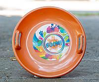 Тарелка Kimet золото, фото 1