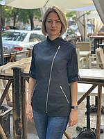Куртка - китель поварской женский, униформа, индивидуальный пошив, все размеры