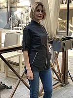 Женская однотонная куртка-китель для повара, фото 8