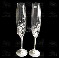 Crystalex Набор свадебных бокалов Sandy 250мл 1090