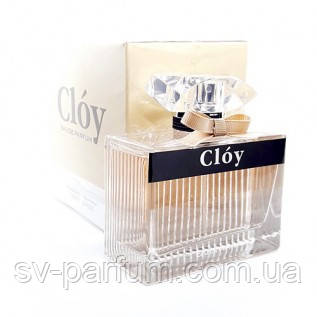 Парфюмированная вода женская Cloy 100ml
