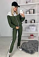 """Спортивный костюм женский плащевка с лампасами размеры 42-46 """"DARIYA"""" купить недорого от прямого поставщика"""