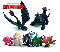 """Игровой набор фигурок драконов из мультфильма"""" Как приручить дракона"""" (How to Train Your Dragon)"""