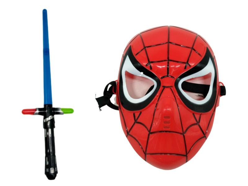 Игровой набор Человек паук Spider-Man (Маска и меч)