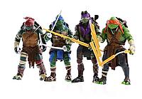 Игровой набор фигурок Черепашки Ниндзя (4 штуки)