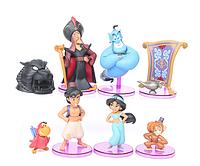 Игровой набор фигурок из мультфильма Аладдин  (Aladdin) - 9 шт