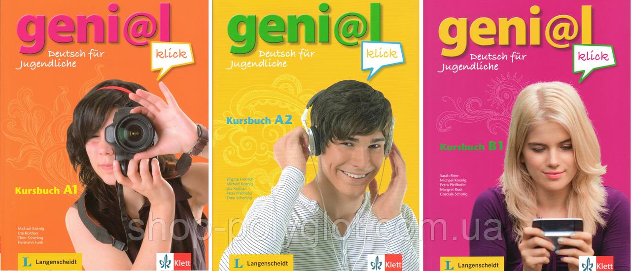 Geni@l klick  (A1 - A2 - B1) Kursbuch + Arbeitsbuch