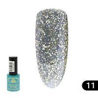 Гель-лак Global Fashion Diamond №011