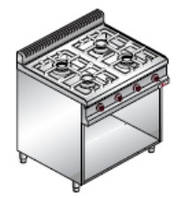 Плита газовая Bertos G7F4M+2P400