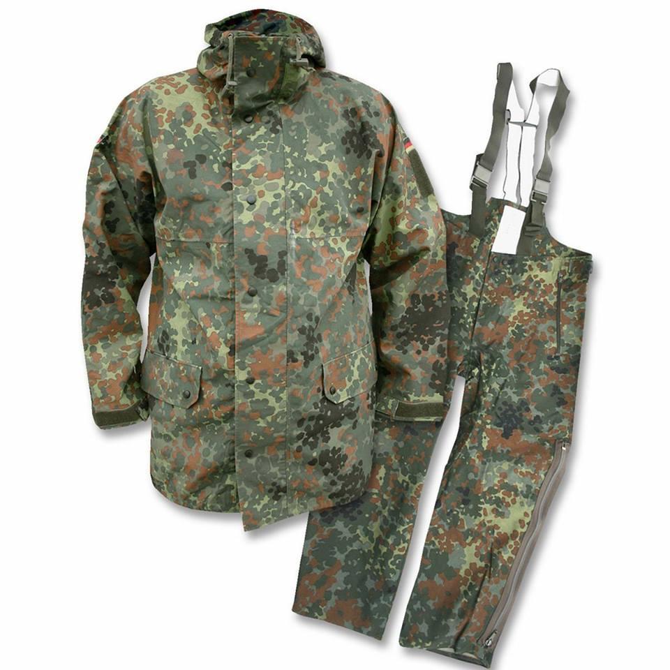 Оригінальний костюм водозахисний Gore-tex армії Бундесверу в забарвленні флектарн