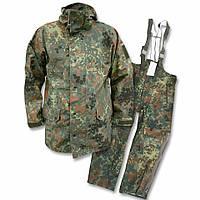 Оригинальный водозащитный костюм Gore-tex армии Бундесвера в расцветке флектарн, фото 1