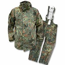 Оригинальный водозащитный костюм Gore-tex армии Бундесвера в расцветке флектарн