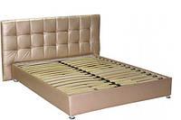 Кровать - подиум с изголовьем №4