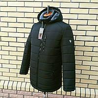 Куртка мужская зимняя черная на меху М-62A