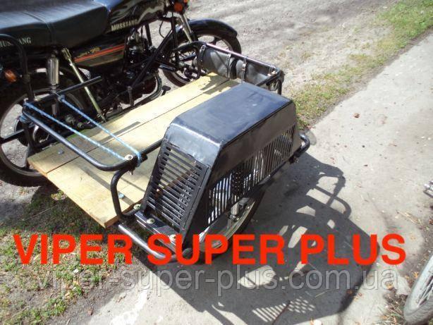 Бічна коляска транспортна до мопедів і мотоциклів на 125-150 кубиків! Підходить до VIPER
