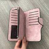 Стильный женский кошелек замшевый baellerry forever n 2345, кошелек женский, Клатч женский, Сумки, рюкзаки,, фото 7