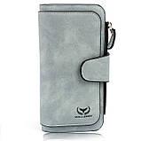 Стильный женский кошелек замшевый baellerry forever n 2345, кошелек женский, Клатч женский, Сумки, рюкзаки,, фото 9