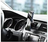 Автомобильный держатель телефона с беспроводной зарядкой CW4, автодержатель с беспроводной зарядкой Товары для, фото 2