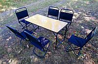 """Складной стол и стулья для пикника  """" Стол + 6 стульев в чехле"""""""
