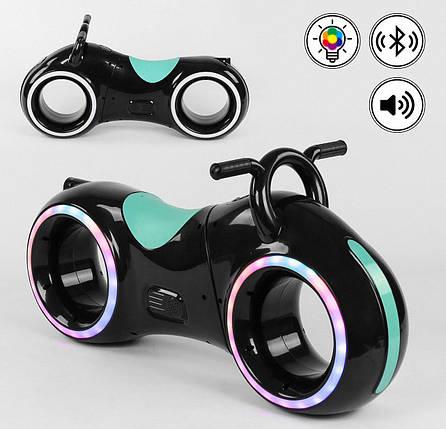 Каталка-толокар Т 0202  Cosmo-байк, LED-подсветка, Bluetooth, встроенные динамики, фото 2