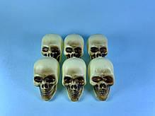 Декоративные Черепа на Хэллоуин, 6,5 см, фото 3