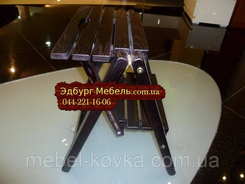 Стремянка, лесенка деревянная, складная лесенка высота 53см цвет на выбор