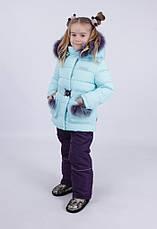 Детский зимний комбинезон для девочки от Kiko 4946 | 80-98р., фото 3
