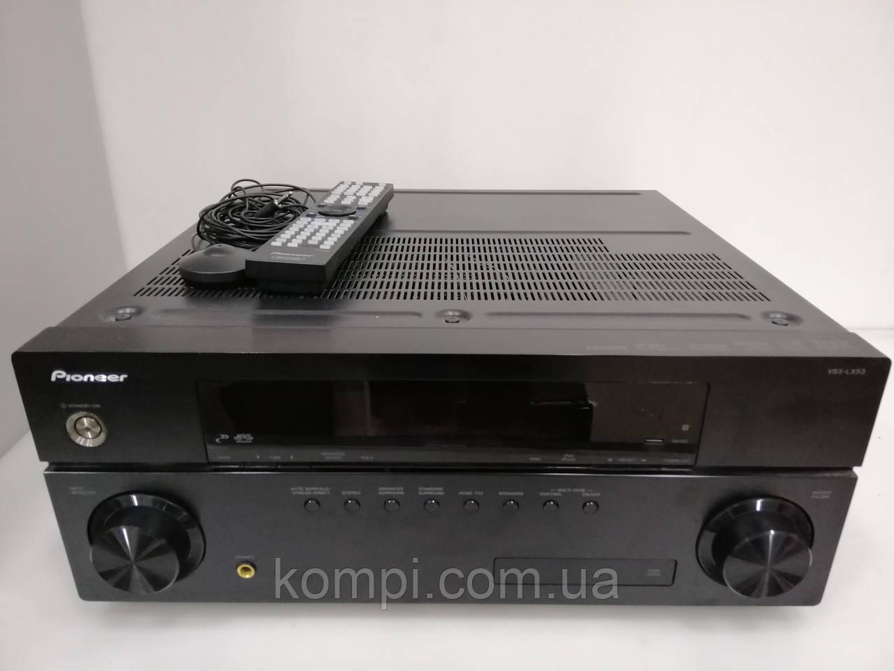 Ресивер  Pioneer VSX-LX53 7.1 3D/TrueHD/USB/NET