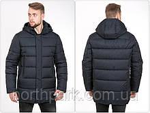 Стильна подовжена чоловіча зимова куртка KTL Т-222