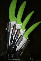 Набор керамических ножей на подставке., фото 1