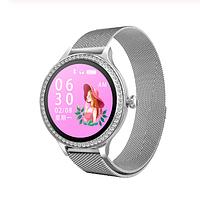 Женские смарт-часы M8 с функцией тонометра - Серебро, фото 1