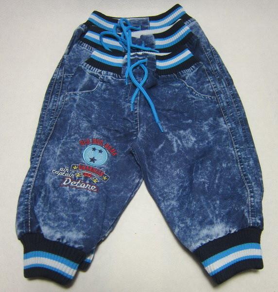 Детские джинсы варенки для мальчика. Размер 6 - 12 мес.