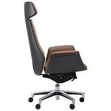 Кресло Bernard HB Brown/Dark Grey, фото 2