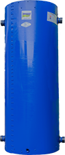 Бак акумулятор Ідмар 360 літрів для системи опалення з утепленням і сталевим корпусом. Буферні ємності.
