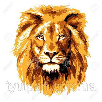 Вафельные картинка на торт лев 2