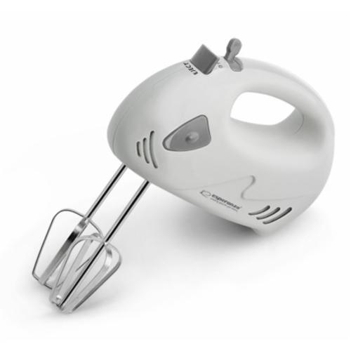 Миксер ручной для кухни Esperanza EKM007E Muffin silver Польша