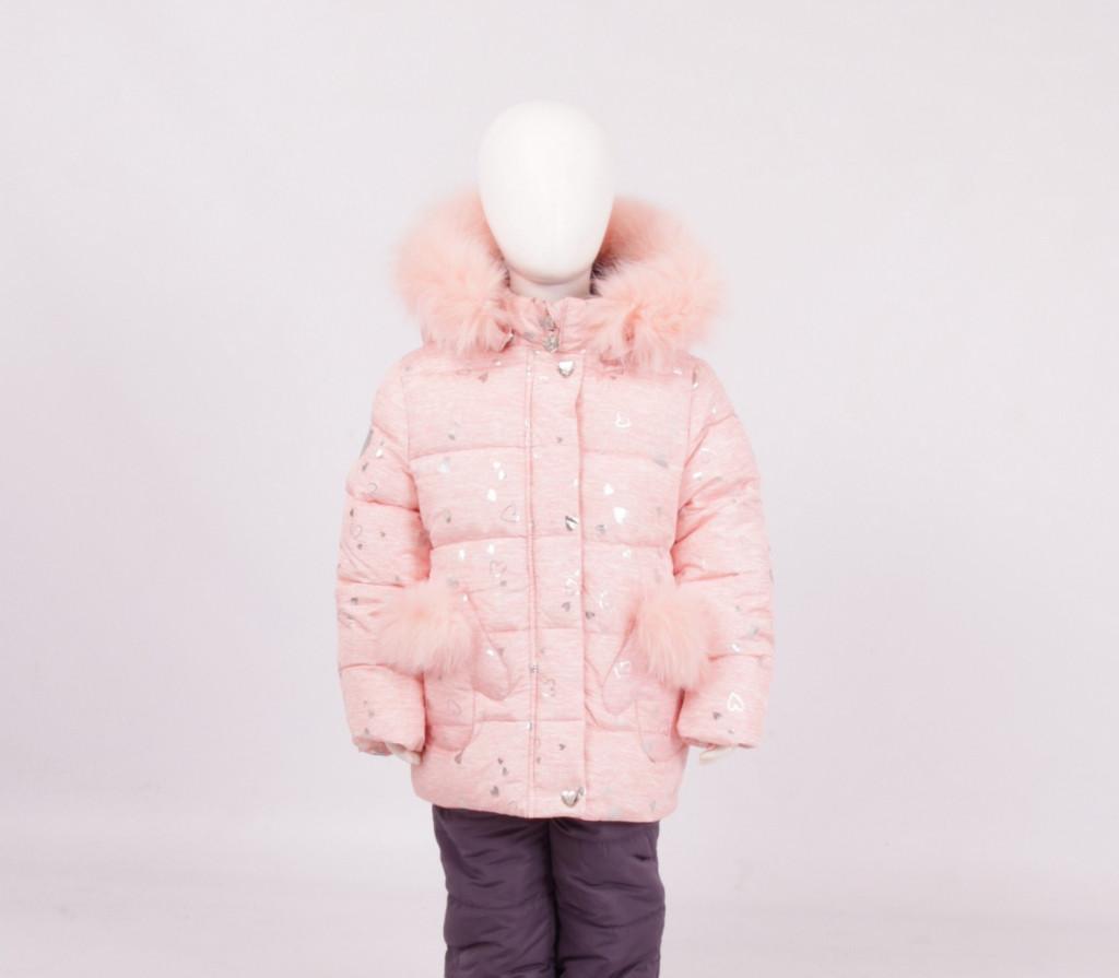 Детский зимний комплект для девочки Кико |  74-98р.