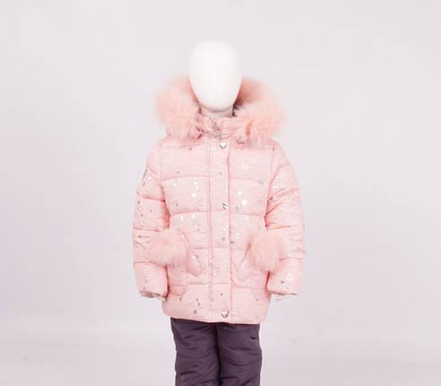 Детский зимний комплект для девочки Кико |  74-98р., фото 2