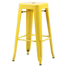 Табурет Loft Metal Желтый, фото 2